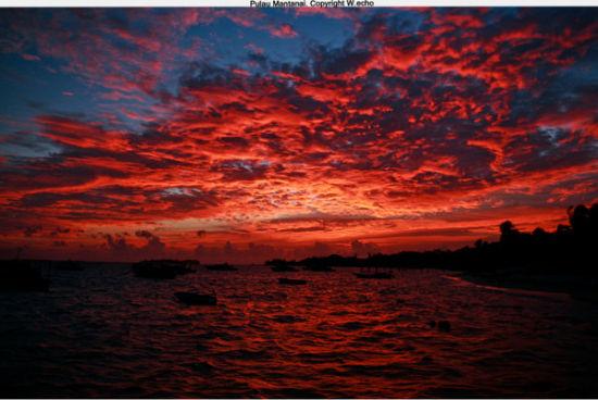 那里叫PulauMantanai美人鱼岛的四天叁夜