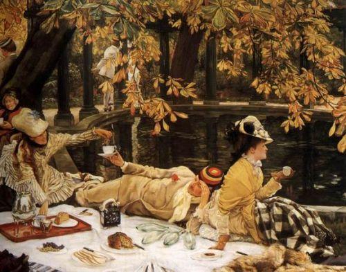 乘着春风进行一次贵族式的野餐吧