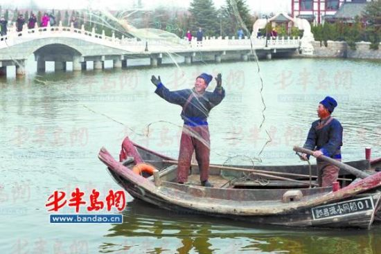 食用油桶改装捕鱼