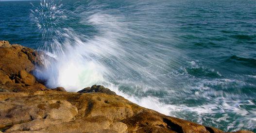 海中奇景:连三岛