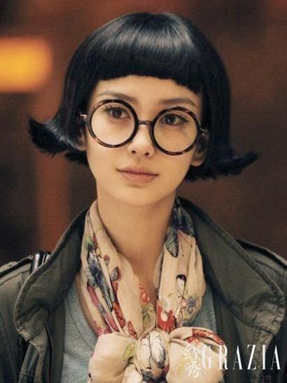 外翻发型才是女星最爱
