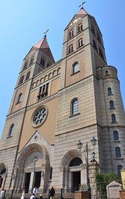 青岛天主教堂圣弥厄尔教堂