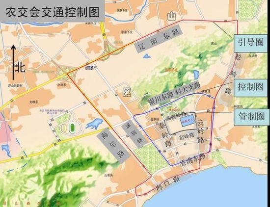 青岛八大关附近停车场