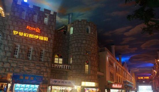 巴洛克建筑风格青岛天幕城