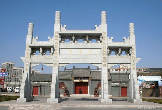 胶州城外有座城隍庙