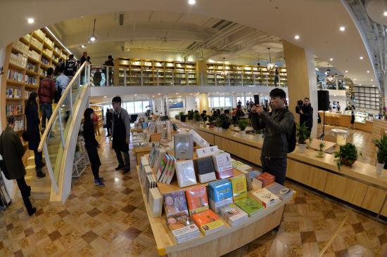 小型书店平面设计图