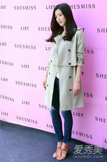 韩国女星三月着装 全智贤秒杀金喜善_青岛微生活时尚